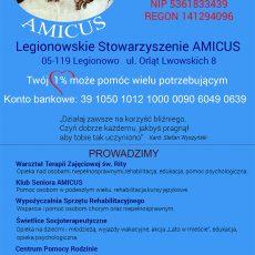 Legionowskie Stowarzyszenie AMICUS. Organizacja Pożytku Publicznego